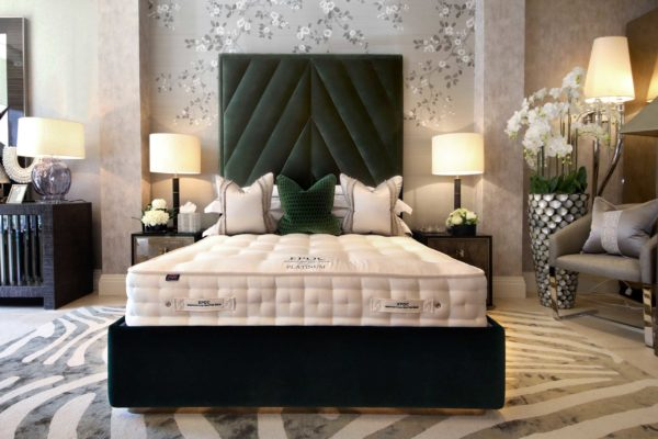 Platinum bed set from EPOC Handcrafted Beds