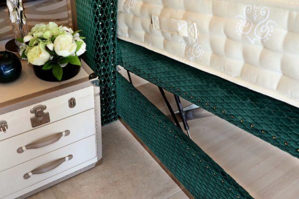 Club Class mattress shown on an ottoman bed base