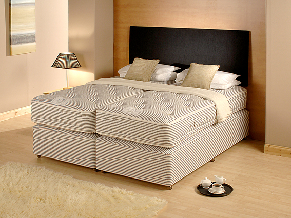 The Richmond bed set from EPOC Handcrafted Beds in a hotel environment